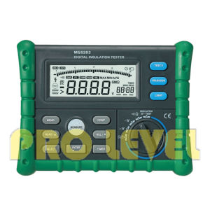 High Quality Digital Insulation Tester (MS5203) pictures & photos