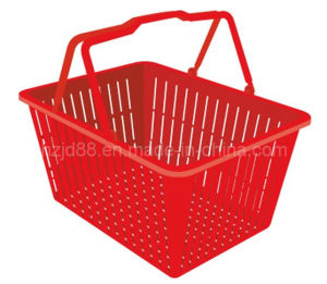 Handheld Plastic Product Supermarket Shopping Basket