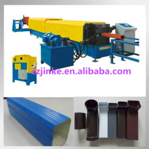 China Down Pipe Bending Roll Forming Machine pictures & photos