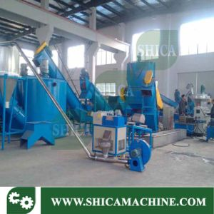 Two Stage Plastic Pelletizer and Granulating Line for PP PE Film pictures & photos