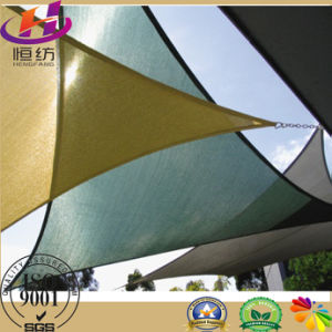 HDPE Shade Structure Sail in Outside