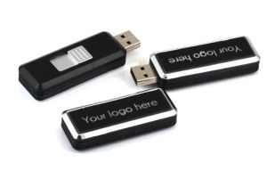 Promotional Plastic Custom LED Logo USB Flash Drive / Pen Drive (SY084) pictures & photos