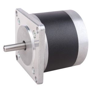 57mm 3A 4-Leads Stepper Motor with Round Shape pictures & photos