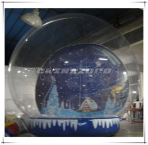 Top Quality Inflatable Snow Globe with Full Starry Sky Backdrop