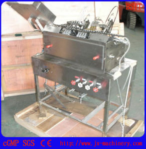 Pharmaceutial Machinery Ampoule Filling and Sealing Machine for 1-2ml (two filling heads) pictures & photos