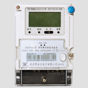 LCD/LED Display Smart Remote Reading Electric Meter for AMR System pictures & photos
