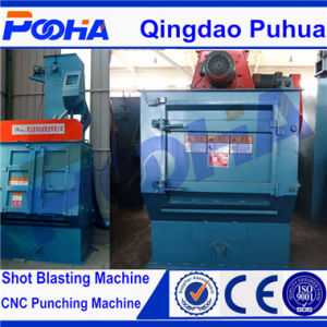 Portable Track Type Belt Sand Blasting Machine Q3210 pictures & photos