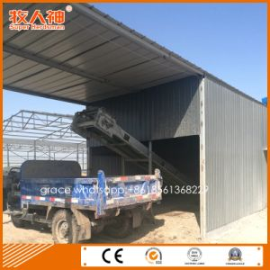 Light Steel Structure Layer Shed with Breeding Equipment pictures & photos