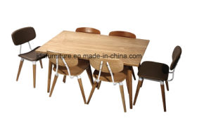 Modern Restaurant Furniture Solid Wood Dining Table Set pictures & photos
