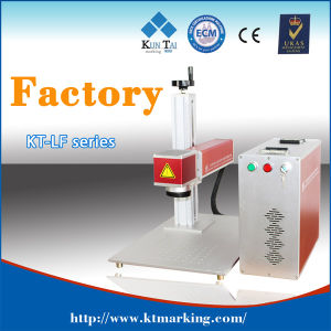 Small Fiber Laser Marking Engraving Machine with CE pictures & photos