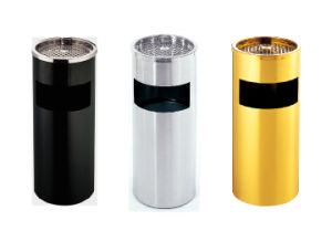 Hotel Stainless Steel & Paint Coated Waste Bin with Cheaper Price pictures & photos