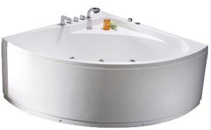 Luxury Corner Bubble Massage Bathtub (JL802) pictures & photos