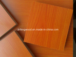 100% Poplar Cherry Color Melamine MDF pictures & photos