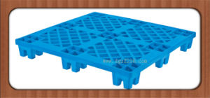 Durable Stacked Plastic Transport Pallets for Warehouse