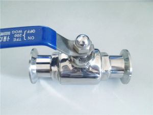 Sanitary Stainless Steel Quick Install Ball Valve pictures & photos