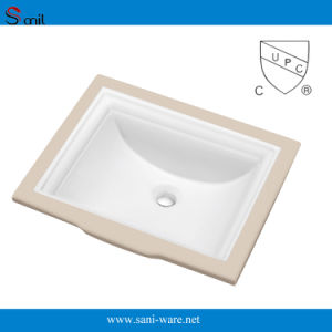 New Design Rectangular Bathroom Under Counter Basin with Cupc (SN040) pictures & photos