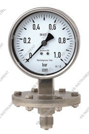 Stainless Steel Diaphragm Pressure Gauge Manometer pictures & photos