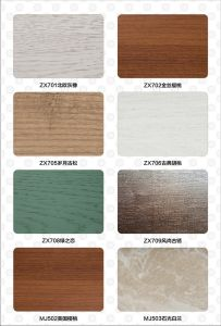 Waterproof Green Home Decoration Material WPC Transit Wasit Line (CG-80A) pictures & photos