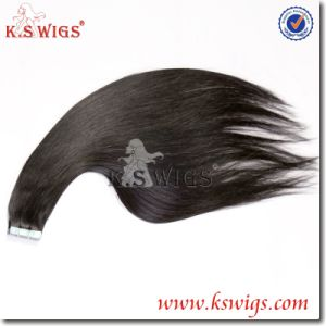 Strongest Blue Tape Hair Extension Brazilian Remy Hair pictures & photos