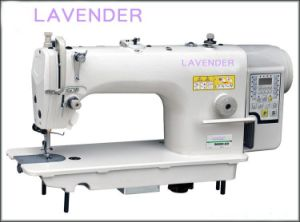 Direct-Drive High-Speed Lockstitch Sewing Machine with Auto-Trimmer pictures & photos