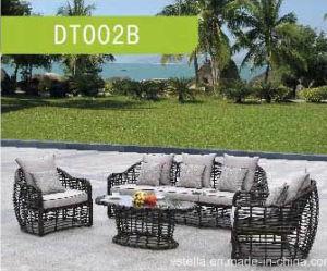 Garden Outdoor PE Rattan Sofa pictures & photos