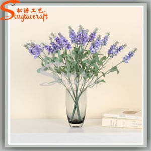 Banquet Home Decoration Artificial Plant Lavender Silk Flowers pictures & photos