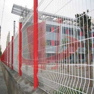 PVC Coated Welded Wire Mesh Fence (Anjia-059) pictures & photos