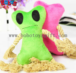 Plush Stuffed Pet Toy with Cotton Rope and Squeaker in 2 Colors Bosw1073/16cm pictures & photos