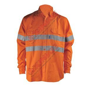 SGS Whosale Flame Retardant Shirt with Reflective Tape