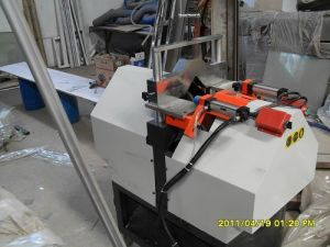 Svj-65 PVC Win-Door V-Cutting Saw pictures & photos