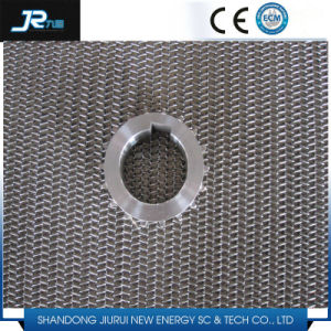 Chain Driven Wire Mesh Belt with Side Guard pictures & photos