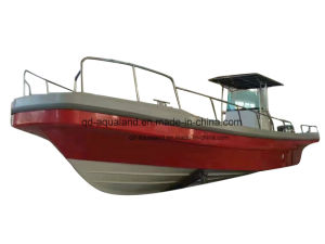 China Aqualand 32feer 9.6m Fiberglass Fihing Boat/Panga Boat/Pleasure Motor Boat (320) pictures & photos