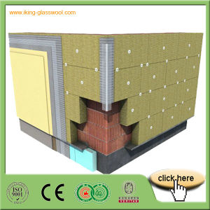 A1 Heat Insulation Rock Wool Board on Promotion pictures & photos