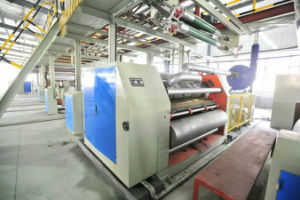 Corrugated Paperboard Single Facer Carton Machine pictures & photos