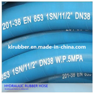 High Temperature Hydraulic Rubber Hose pictures & photos