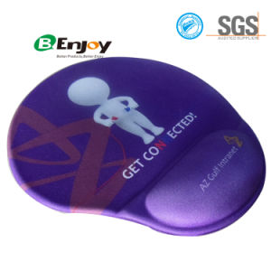 Custom Design Printing Gel Mouse Pad with Wrist Rest Suport pictures & photos