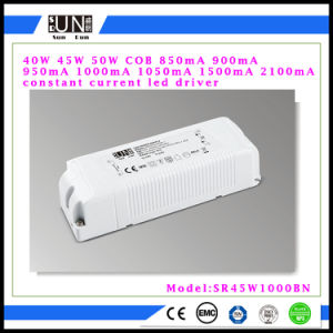 45W Constant Current 900mA 950mA 1000mA 1050mA 2100mA LED Power Supply High Power 40W 45W 50W LED Driver pictures & photos