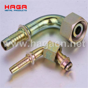 Hydraulic Fitting 45 90 Metric Female Multiseal pictures & photos