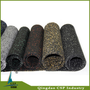 Eco-Friendly Recycled Granules Flooring Mat Gym pictures & photos