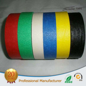Factory Price Green and Red Crepe Masking Tape pictures & photos