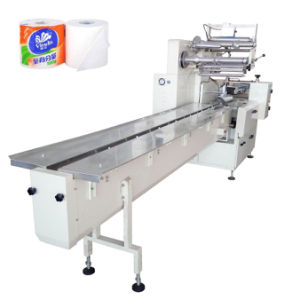 Single Roll Toilet Tissue Paper Packing Machine pictures & photos