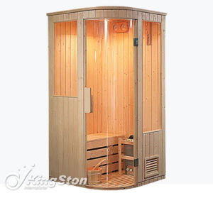 OEM Finland Pine Traditional Sauna Room (A-805) pictures & photos