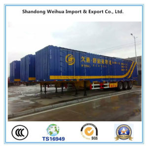 China Van Type Semi Trailer, Box Truck Trailer with Factory Price pictures & photos