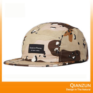 Raised by Wolves Algonquin 5 Panel Cap Full Desert Camo pictures & photos