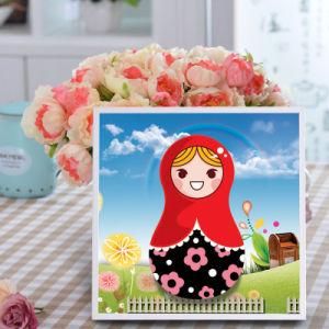 Factory Direct Wholesale New Children DIY Handcraft Sticker Promotion Kids Girl Boy Gift T-172 pictures & photos