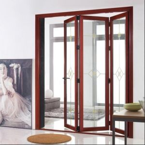 Bathroom Aluminum Folding Door (WJ- ALU-02)