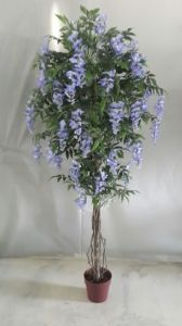 High Quality of Artificial Plants Natural Trunk with Flowers Westeria Gu-SL-130-840-45ppl pictures & photos