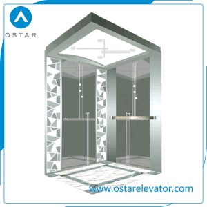 Cheap Passenger Lift with Mirror Etching Elevator Cabin pictures & photos