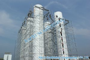 Tank Maintaince Hot-DIP Galvanized Ringlock Scaffolding pictures & photos