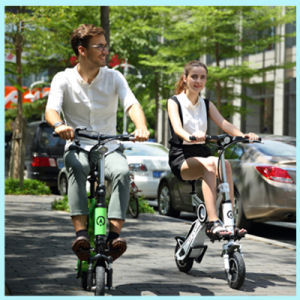Lithium Battery 250W Chainless Mini Electric Folding Bicycle pictures & photos